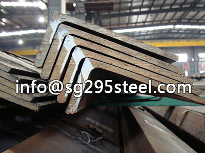 Hot rolled angle steel bar